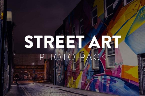 Street Art Photo Pack