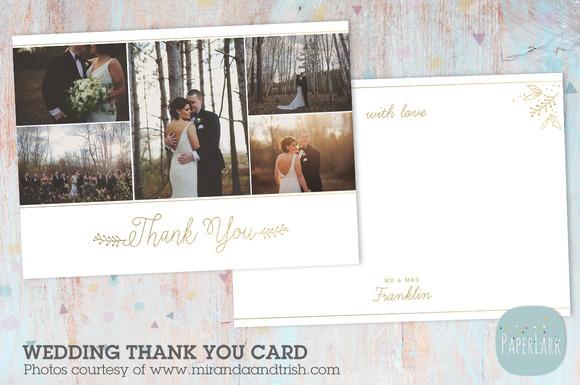 AW022 Wedding Thank You Card