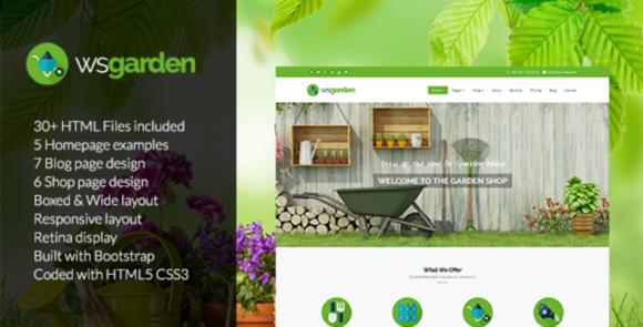 Garden-Responsive Gardening Template