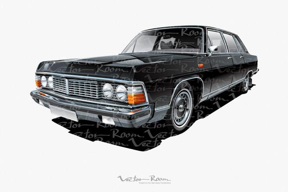 Vintage Soviet Limousine