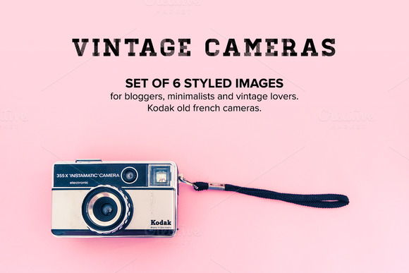 Hero Images Bundle Vintage Cameras
