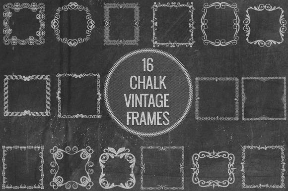 Chalk Vintage Frames