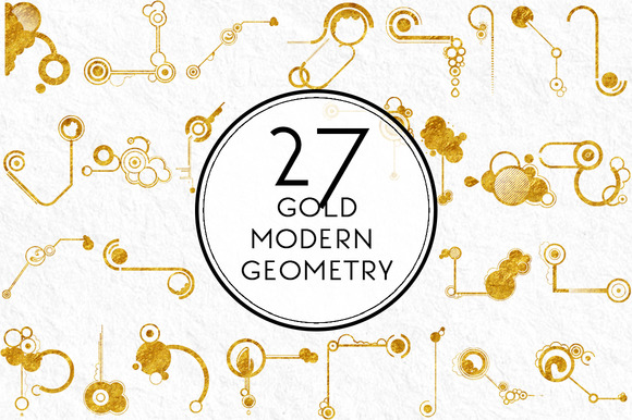 Gold Modern Geometry