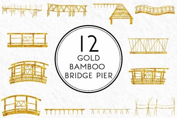 Gold Bamboo Pier