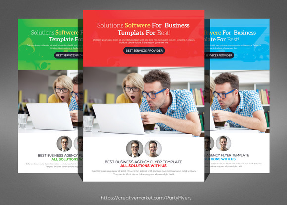 Best Business Flyer Template