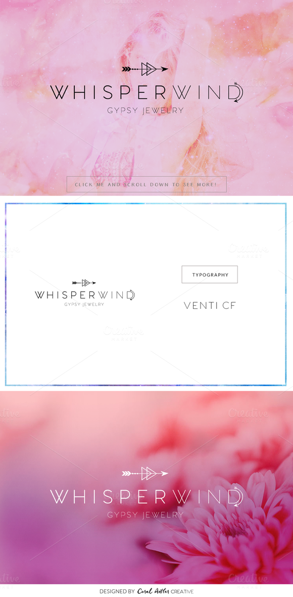 WhisperWind Premade Logo