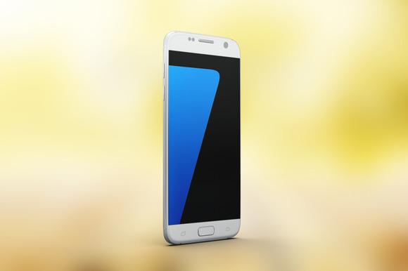 Samsung Galaxy S7 Mock Up