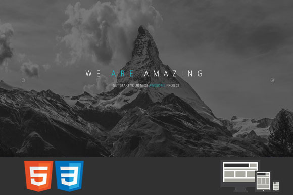Capital One MultiPage HTML Template