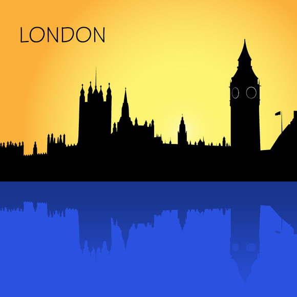 London Skyline Vector