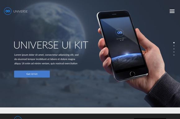 Universe UI Kit