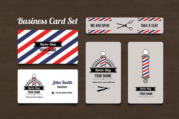 Customize 74 Barber Business Card templates online  Canva