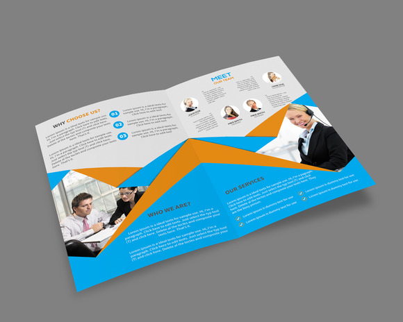 coreldraw brochure templates - corel draw tri fold brochure template designtube