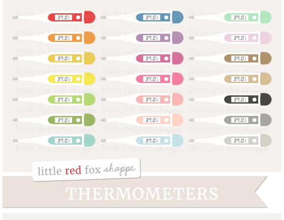 Digital Thermometer Clipart