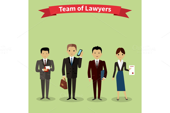 Lawyers Team People Group