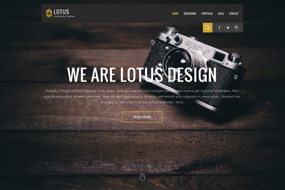 Lotus Pro WordPress Theme