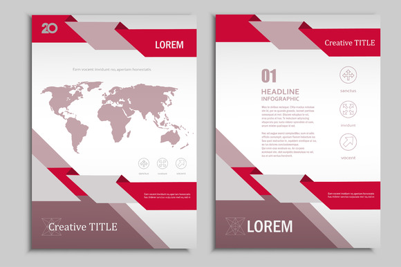 Vector Brochure Template Vol.3