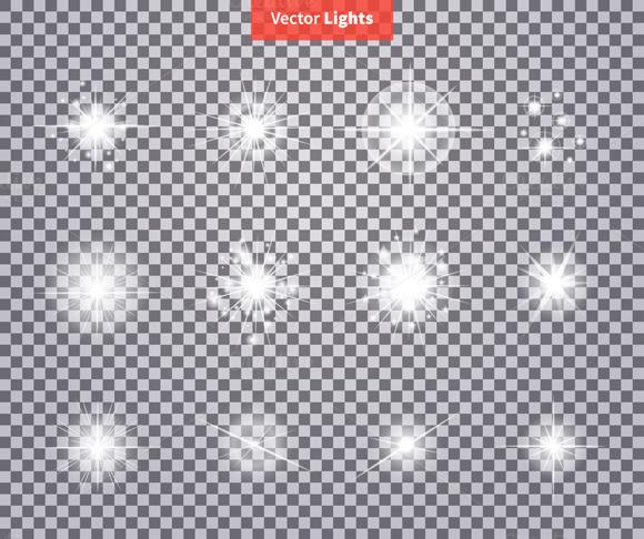 Glows Bright Star Light Fireworks