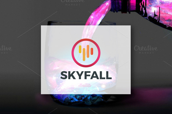 Skyfall Logo Design