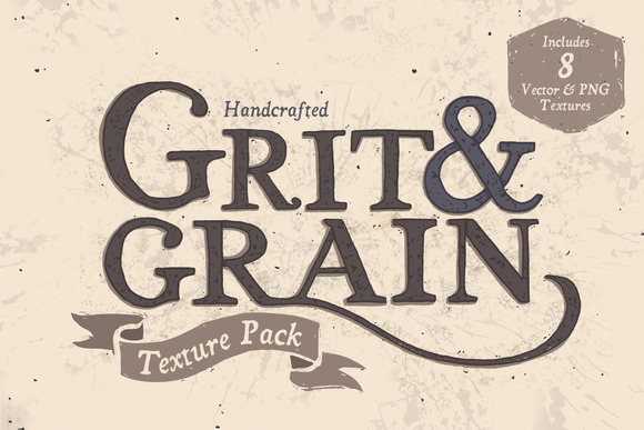 Grit Grain Vector Texture Pack