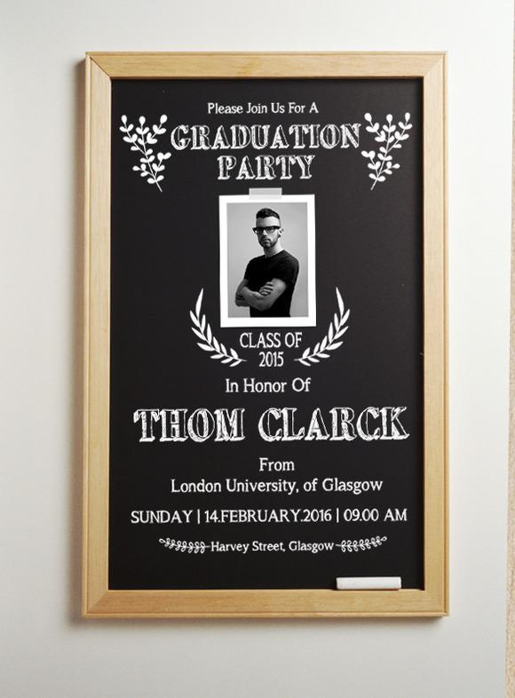 Blackboard Graduation