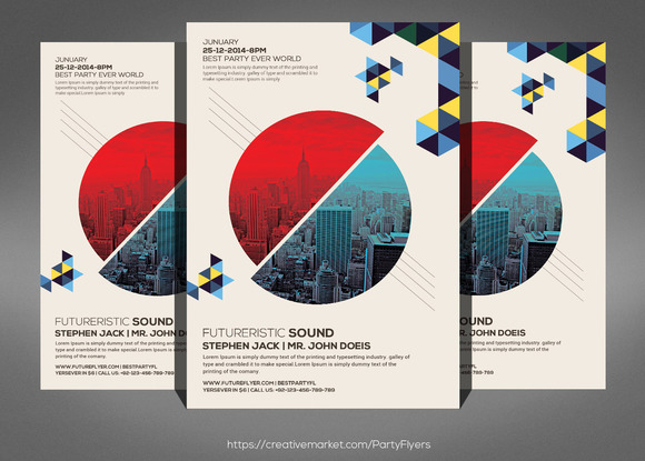 Concert And Symphony Flyer Template