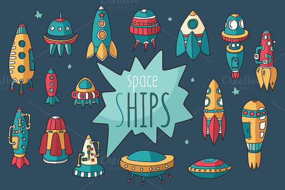 Spaceships Set Pattern