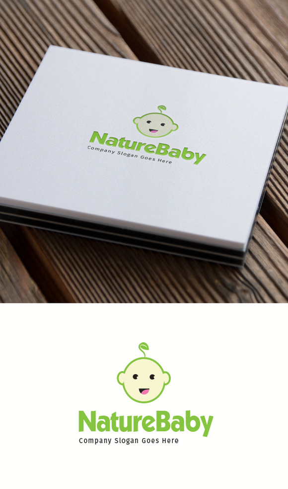 Green Baby Logo