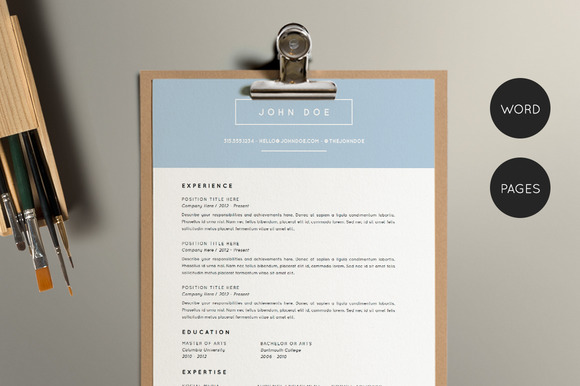 Resume Template Pack CV Template