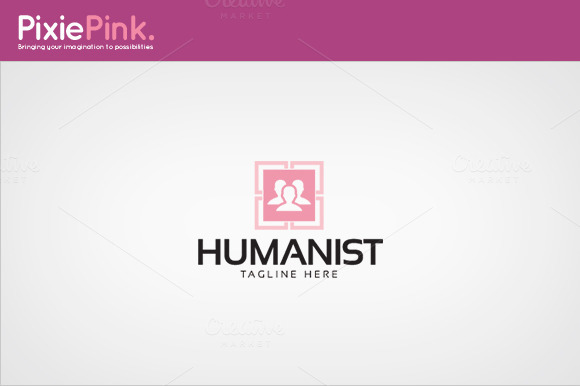 Humanist Logo Template