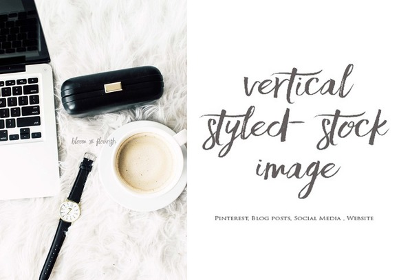 Vertical Styled Stock Image 6