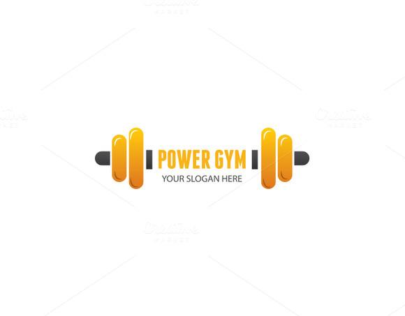 Power Gym Logo Template