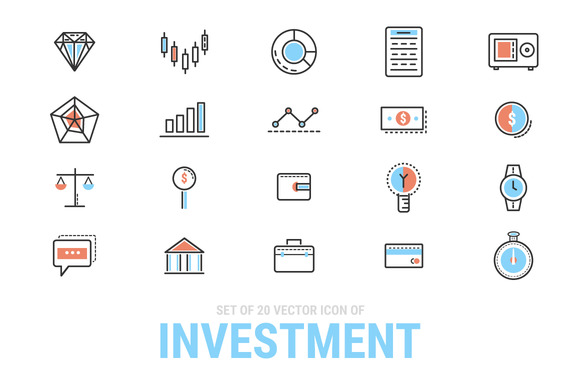 Investment Icon Set