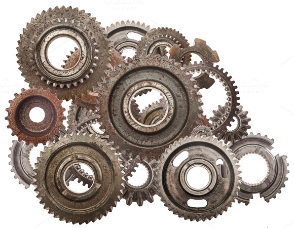 Cog Wheels Mechanism