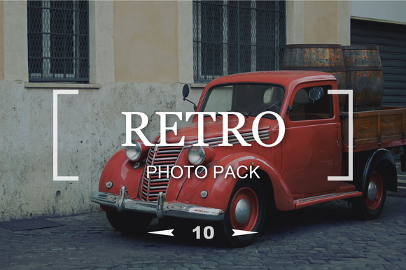 10 Retro Stars Photo Pack