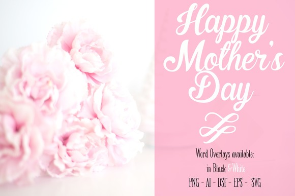 Mothers Day Overlay SVG PNG AI EPS