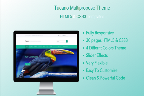 Tucano HTML5 Responsive Template