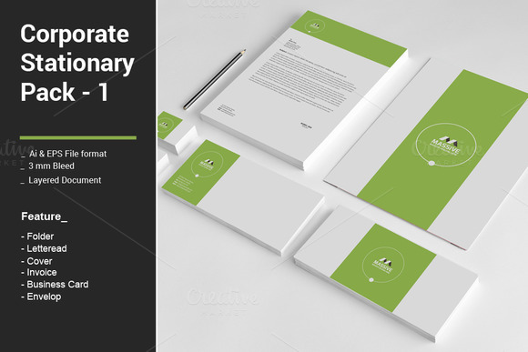 Corporate Stationary Pack 1