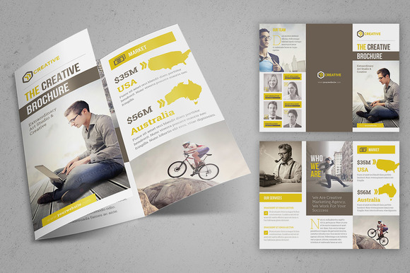 The Creative Brochure Trifold