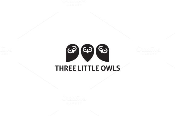 3LittleOwls Logo
