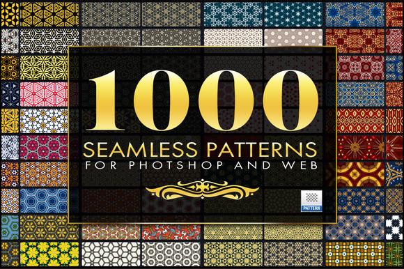 1000 Seamless Web Patterns Bundle