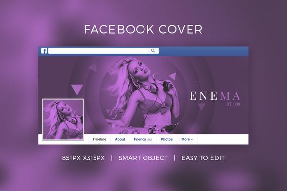 Facebook DJ Cover V3