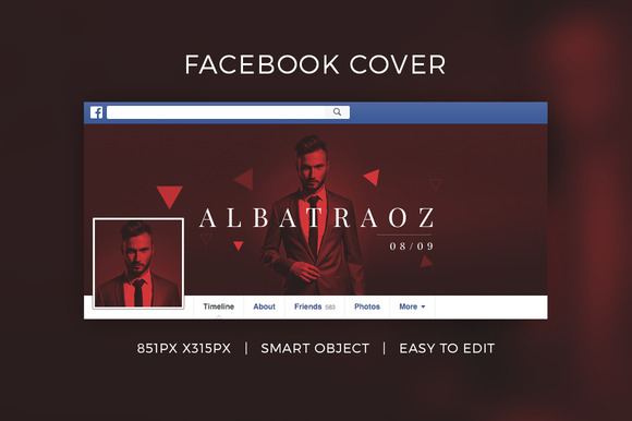 Facebook DJ Cover V1