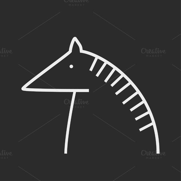 Head Of A Horse Logo