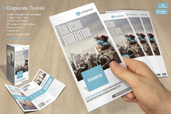 Tri-fold Corporate Vol 4