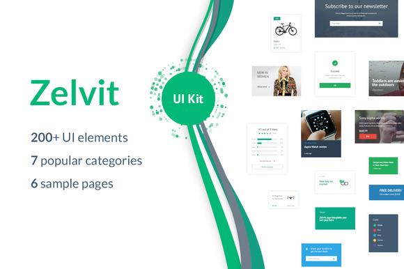 Zelvit UI Kit