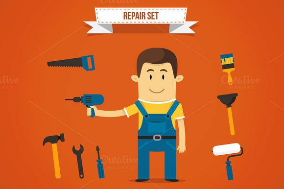 Vector Repairman Set