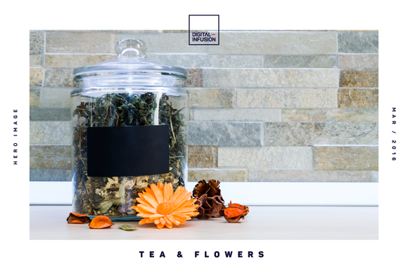 Tea Flowers Hero Image