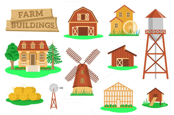 Farm Buildings And Constructions
