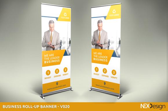 Business Roll-Up Banner V020