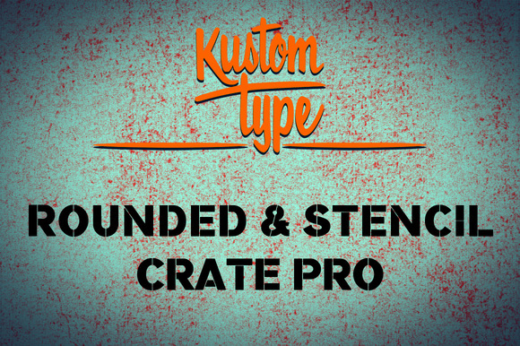 Crate Pro Rounded Stencil